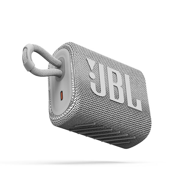 JBL GO 3 防水 IP67 Bluetooth 5.1 ワイヤレス コンパクト スピーカー ホワイト