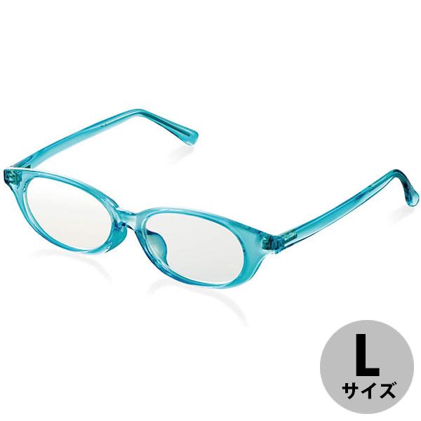エレコム ブルーライトカット眼鏡 キッズ用 高学年向 Lサイズ ブルー