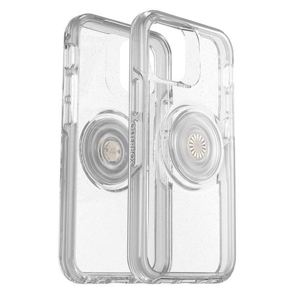 OtterBox iPhone 12 mini Otter + Pop Symmetry Clear Series 耐衝撃ケース STARDUST POP (クリアラメ) 77-66173