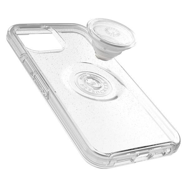 OtterBox iPhone 12 Pro Max Otter + Pop Symmetry Clear Series 耐衝撃ケース STARDUST POP (クリアラメ) 77-66283