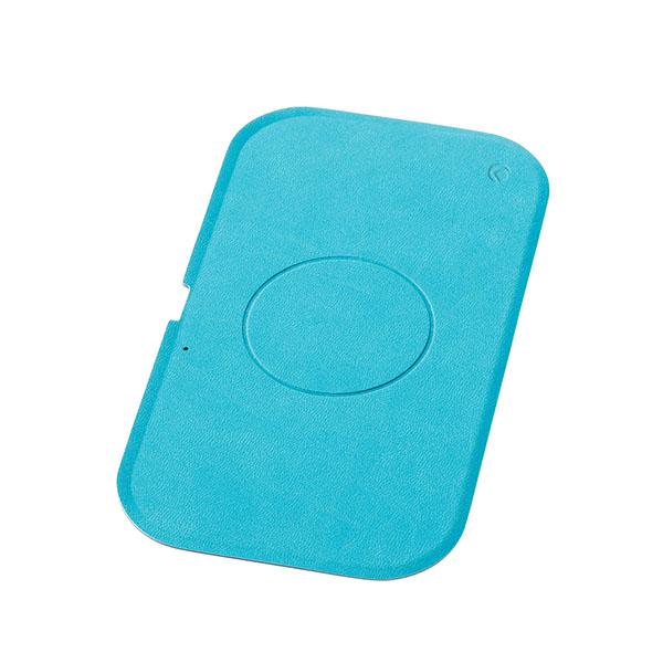 Deff WIZ Wireless Charging Tray Qi 最大15W ターコイズブルー