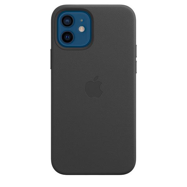 Apple iPhone 12 / 12 Pro レザーケース MagSafe対応 ブラック MHKG3FE/A