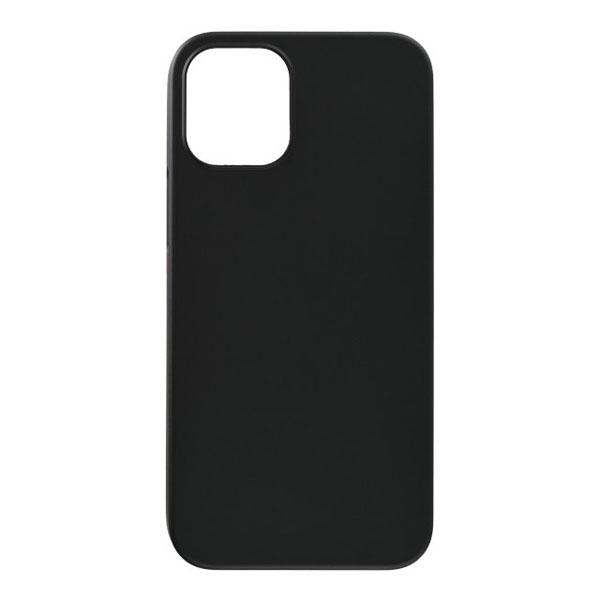 PowerSupport iPhone 12 mini Air Jacket エアージャケット Rubber Black