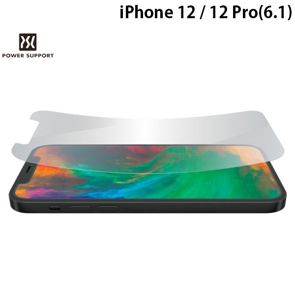 PowerSupport iPhone 12 / 12 Pro Crystal film クリスタルフィルム 光沢 PPBK-01