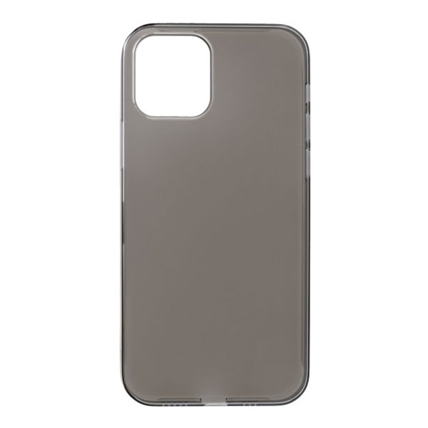 PowerSupport iPhone 12 / 12 Pro Air Jacket エアージャケット Clear Black
