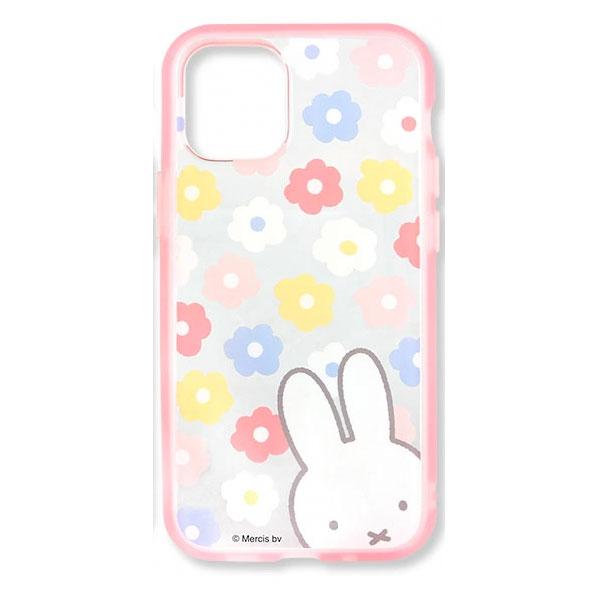 gourmandise iPhone 12 mini ケース IIIIfi+ (イーフィット) CLEAR ミッフィー フラワー
