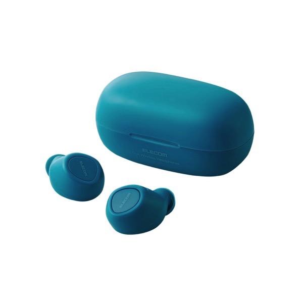 エレコム FAST MUSIC TWS10 Bluetooth 5.0 トゥルーワイヤレスイヤホン ブルー