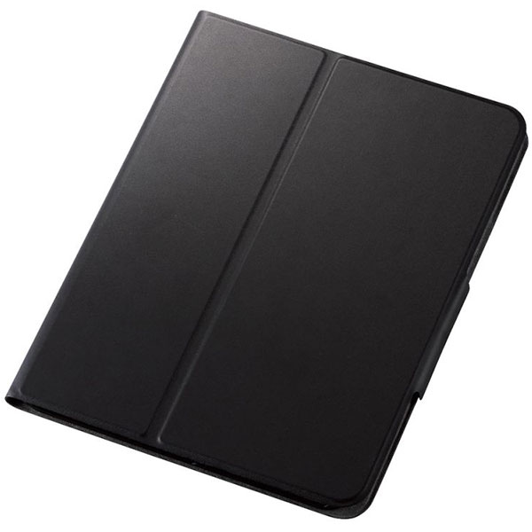 エレコム 10.9インチ iPad Air 第4世代 手帳型 レザーケース 2アングル スリープ対応 薄型 ブラック