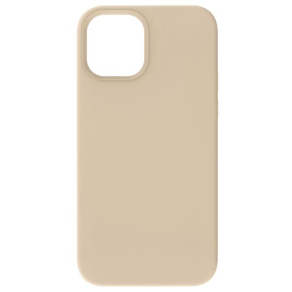 Simplism iPhone 12 mini [Cushion] MagSafe対応 シリコンケース ベージュ
