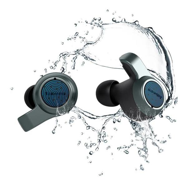 Jabees Firefly.2 完全ワイヤレスイヤホン Bluetooth 5.0 IPX7 防水 Grey