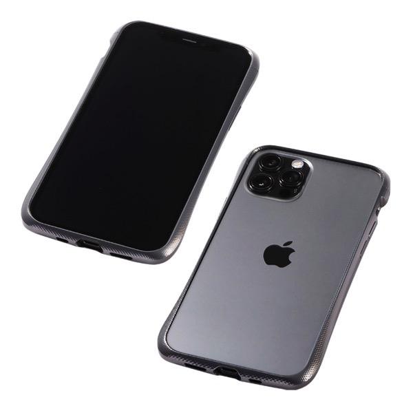 Deff iPhone 12 / 12 Pro CLEAVE Aluminum Bumper Graphite