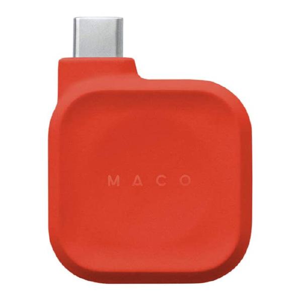 Three1 Design Maco Go USB Type-C Apple Watch 磁気充電ドック レッド