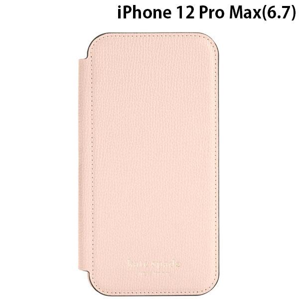 kate spade new york iPhone 12 Pro Max Folio Case Pale Vellum Crumbs KSIPH-170-PLVM