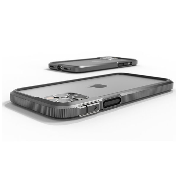 SHOCKLAYER iPhone 12 Pro Max XTREME バンパーケース Graphite SX-12PM-GP