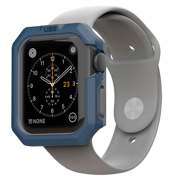 UAG Apple Watch 44mm CIVILIAN 耐衝撃ケース マラード/シルバー