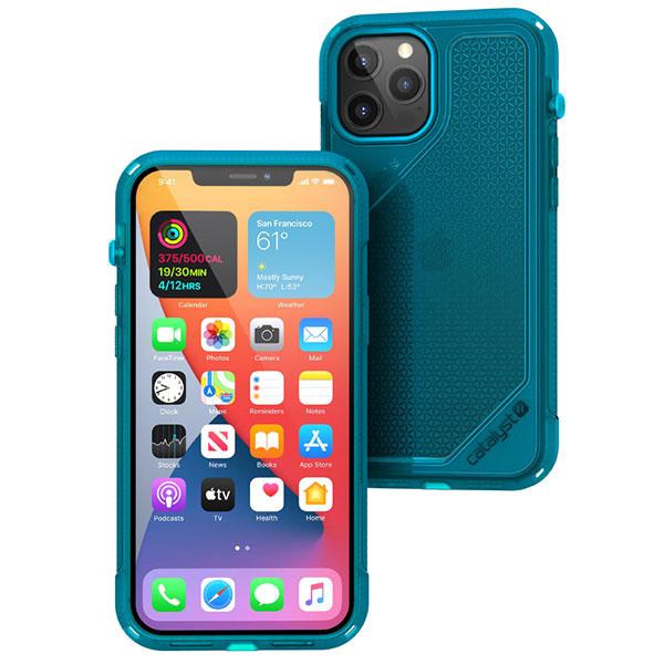 Catalyst iPhone 12 Pro Max 衝撃吸収ケース Vibeシリーズ ネオンブルー