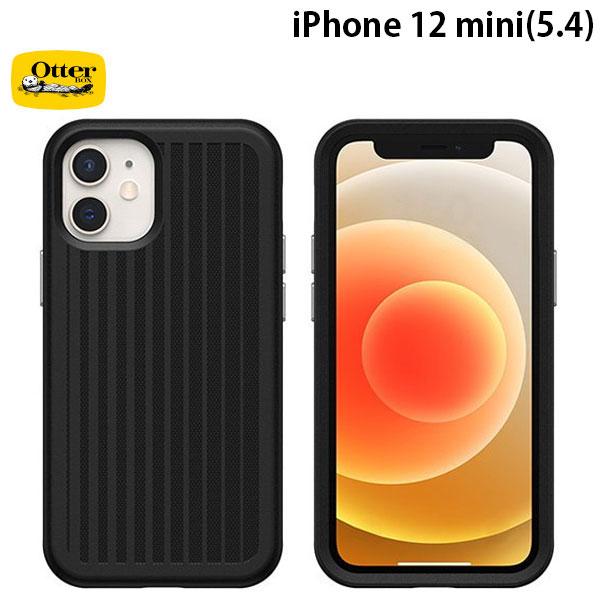 OtterBox iPhone 12 mini Easy Grip Gaming 抗菌 耐衝撃ケース Squid Ink Black