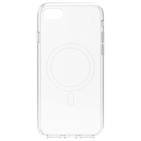 Simplism iPhone SE 第2世代 [Turtle] MagSafe対応 ハイブリッドクリアケース ホワイトライン