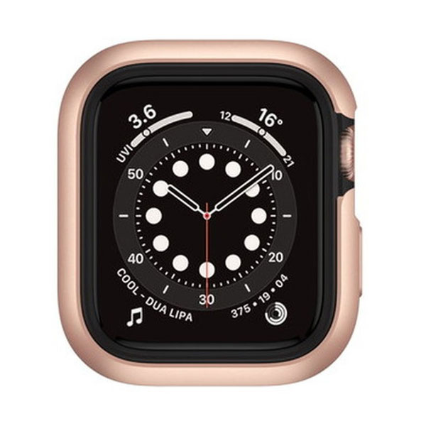 SwitchEasy Apple Watch 44mm Series 4 / 5 / 6 / SE Odyssey アルミ TPU ケース Space Rose Gold