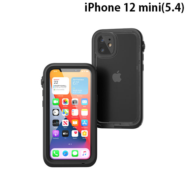 Catalyst iPhone 12 mini 完全防水ケース ステルスブラック