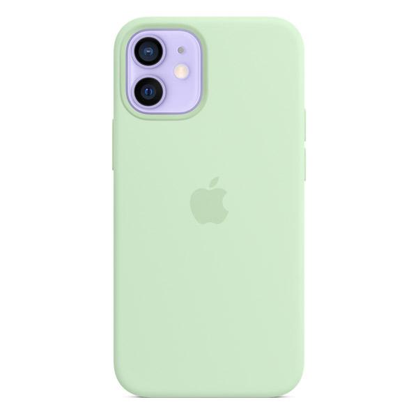 Apple iPhone 12 mini シリコーンケース MagSafe 対応 ピスタチオ