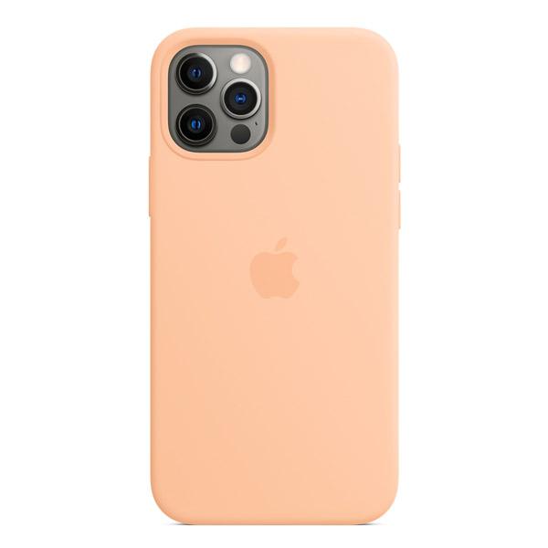 Apple iPhone 12 / 12 Pro シリコーンケース MagSafe 対応 カンタロープ