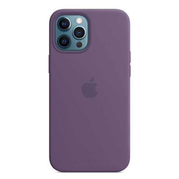 Apple iPhone 12 Pro Max シリコーンケース MagSafe 対応 アメシスト