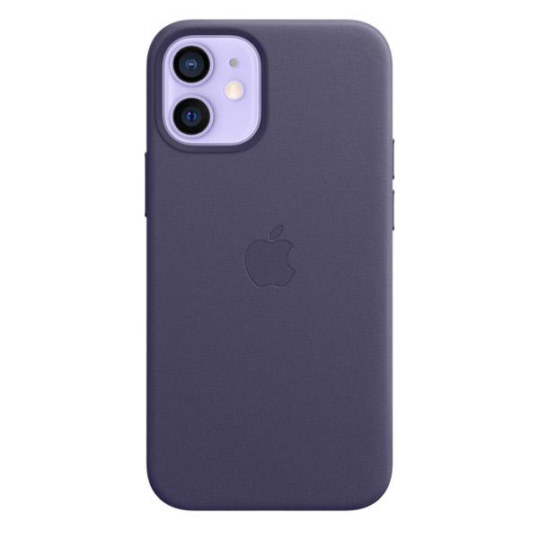 Apple iPhone 12 mini レザーケース MagSafe 対応 ディープバイオレット