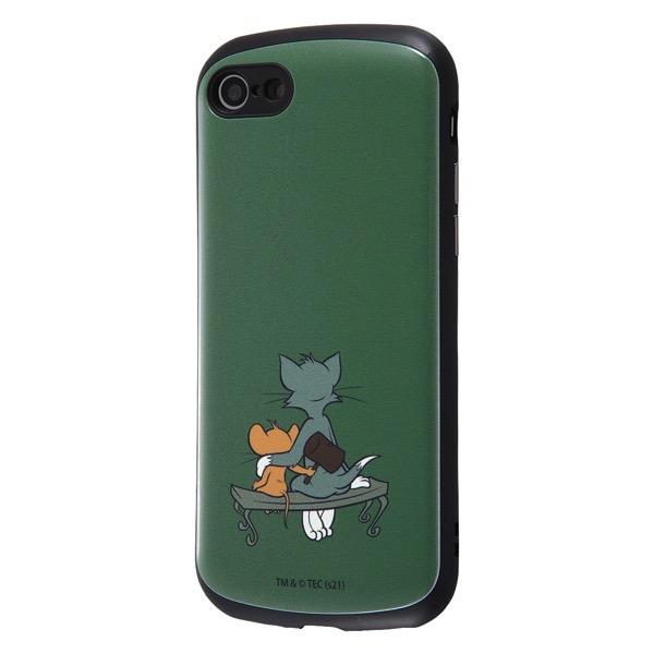 ingrem iPhone SE 第2世代 / 8 / 7 トムとジェリー 耐衝撃ケース MiA ハンマー