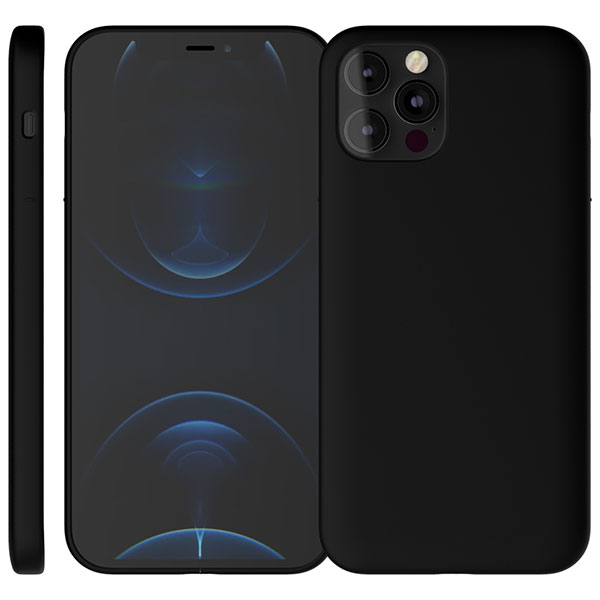 MYNUS iPhone 12 / 12 Pro CASE 薄型軽量 マットブラック
