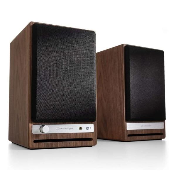 Audioengine HD4 aptX HD対応 Bluetooth 5.0 ワイヤレススピーカー ウォールナット AE-HD4-WAL