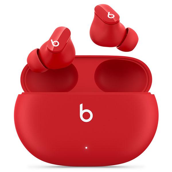 beats by dr.dre Beats Studio Buds(ビーツ・スタジオ・バッズ) Bluetooth ワイヤレスノイズキャンセリングイヤフォン Beatsレッド MJ503PA/A