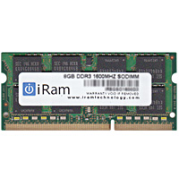 iRam PC3-12800 (DDR3-1600) SO.DIMM 8GB