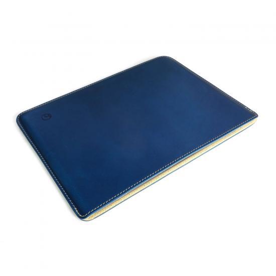 buzzhouse design ハンドメイドレザーケース for iPad Pro 5th / 9.7インチ iPad Pro / Air 2 ブルー