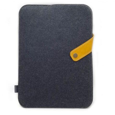 buzzhouse design ハンドメイドフェルトケースDX for 9.7インチ iPad Pro / Air 2 / Air (ブラック)