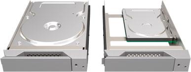mathey STARDOMシリーズ専用トレーボックス&トレーセット シルバー 2.5/3.5 HDD/SSD 対応