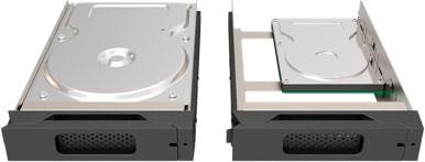 mathey STARDOMシリーズ専用トレーボックス&トレーセット ブラック 2.5/3.5 HDD/SSD 対応