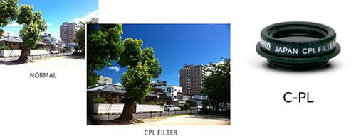 GIZMON SMART CLIP CPL (サーキュラー・ピーエル) フィルター