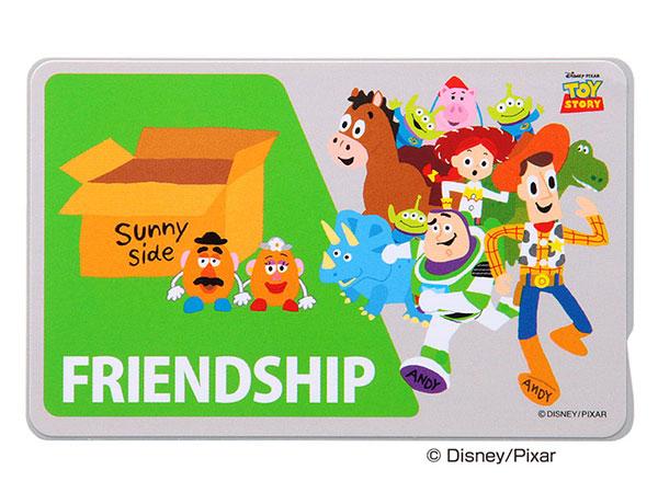 Ray Out ディズニー ICカードステッカー トイストーリー