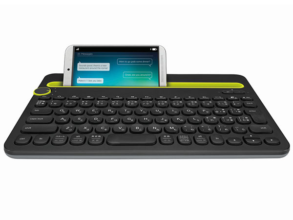 LOGICOOL Bluetooth Multi-Device Keyboard k480 ブラック