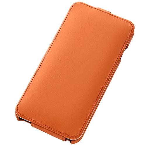 Ray Out iPhone 6 Plus / 6s Plus フラップタイプ・レザージャケット (本革タイプ) 縦開き キャメル