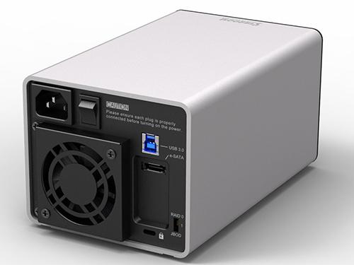 STARDOM SOHO TANK ST2-6G e-SATA/USB 3.0 シルバー