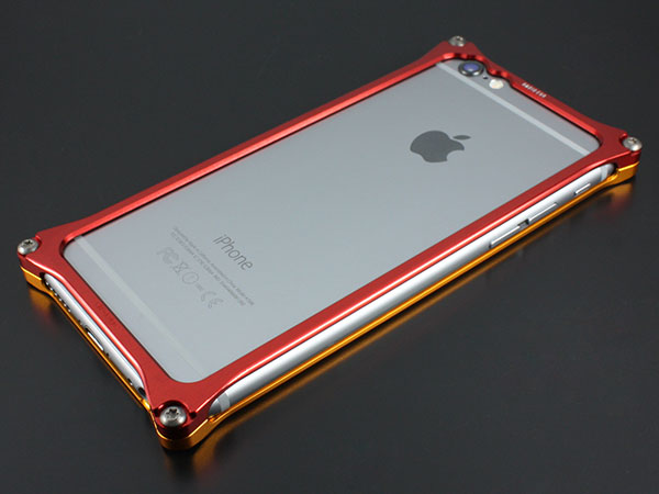 GILD design iPhone 6 / 6s Solid Bumper (EVANGELION Limited) エヴァンゲリオン2号機