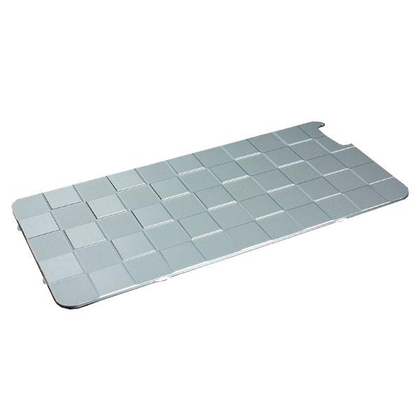 GILD design アルミパネル市松 iPhone 6 Plus / 6s Plus 用 ソリッドバンパー専用 シルバー