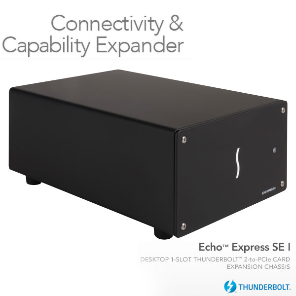 SONNET Echo Express SE I Thunderbolt 2-to-PCIe Card Expansion Chassis