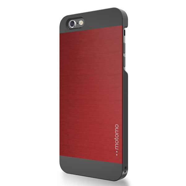 ff0d208142 motomo iPhone 6 Plus / 6s Plus INO METAL AL2 ケース シルバーブラック ...