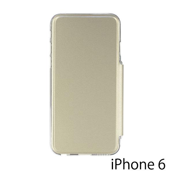 PowerSupport iPhone 6 / 6s Air Jacket Flip (ゴールド)
