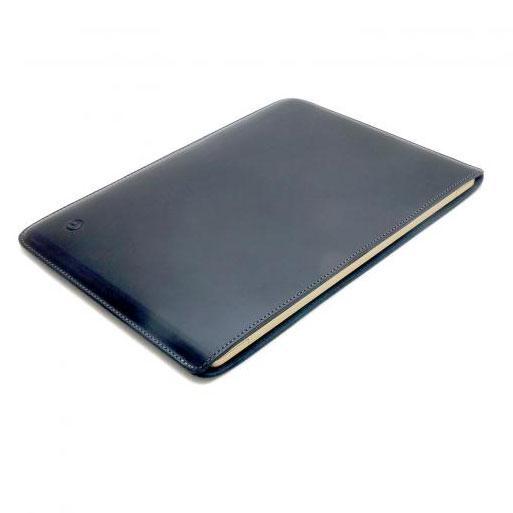 buzzhouse design MacBook 12インチ ハンドメイドレザーケース ブラック