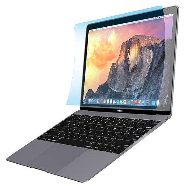 PowerSupport クリスタルフィルムセット for MacBook 12inch