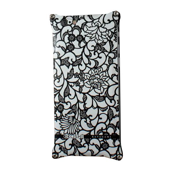 GILD design OKOSHI-KATAGAMI アラベスク for iPhone 6 / 6s ブラック
